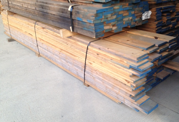 Picture - stack of Australian Cypress lumber