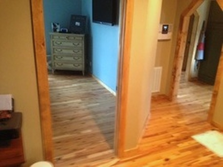 Picture - Australian Cypress pre-finished floor - completed, 3-1/4