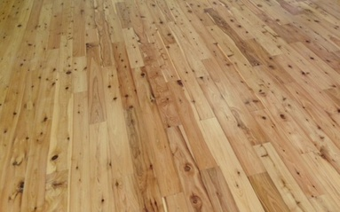 Picture - installed Australian Cypress floor. 2013
